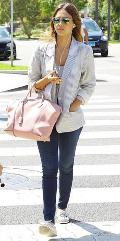 Jessica Alba's Chic Street Style - June 7, 2014 from #InStyle