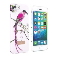 f08c0d90eebe Ted Baker AW16 MIREILL Soft-Feel Hard Shell for iPhone 7 - Flight of the