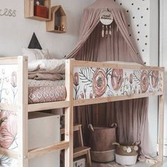 Ikea Kura hack by Maren Pederson.maria Ikea Kura hack by Maren Pederson.maria The post Ikea Kura hack by Maren Pederson.maria appeared first on Ikea ideen. Ikea Kura Hack, Ikea Hacks, Kura Bed Hack, Ikea Loft Bed Hack, Diy Hacks, Food Hacks, Bedroom Loft, Bedroom Decor, Ikea Girls Bedroom