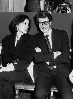 Paloma Picasso et Yves Saint Laurent. Picasso Pictures, Picasso Style, French Fashion Designers, Rita Hayworth, Celebs, Celebrities, All About Fashion, Retro, Fashion History