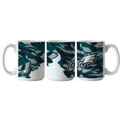 NFL xFIT Philadelphia Eagles 15oz Accent Coffee Mug Philadelphia Eagles 45075a83f54