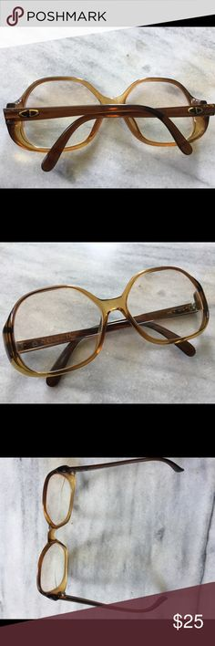 44a2d39ac568 Vintage Christian Dior Glasses Super cute vintage glasses with prescription  lenses that can easily be changed out Dior Accessories Glasses