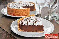 torta gelada de café e chocolate