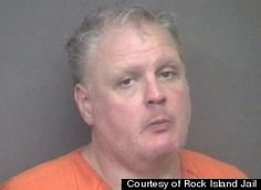 """""""He had lathered himself up in Crisco. He was covered in grease, and was holding the can under his arm,"""" Rock Island Deputy Chief of Police Jeff VenHuizen told the paper. """"He said he was looking for a place to party."""""""