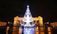 Gorky Park, Moskva #travel #winter #christmas #christmas tree #jelka #new year #nova godina #lights