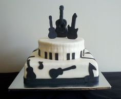 Music Note Wedding Cake | Recent Photos The Commons Getty Collection Galleries World Map App ...  groomsmen cake?