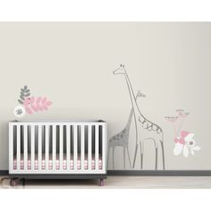 LittleLion Studio Fauna Backyard Nursery Wall Decal | AllModern