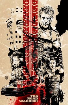 saturdaymatinee:  Mad Max 2: The Road Warrior(1982), Directed...