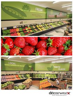 Produce Wall Graphics
