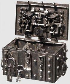 Elaborate Sixteenth Century Strongbox