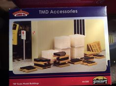 TMD accesories  by Scencraft & sold by Bachmann  Acquired 24/09/16 from Hattons Merseyside in the sales