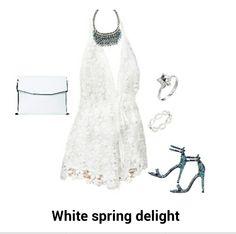 Spring White date night