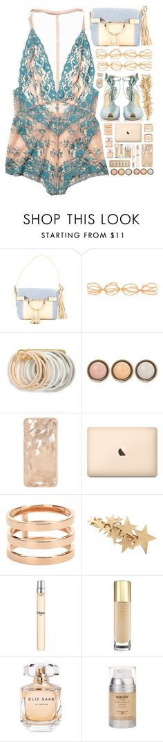 """2143 // T h e r m e s s a i t e"" by arierrefatir ❤ liked on Polyvore featuring Borbonese, Repossi, Odeme, By Terry, Mikimoto, Chloé, Yves Saint Laurent, Elie Saab and Laura Geller"
