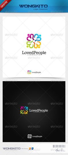 Loved People — Photoshop PSD #vector #craft • Available here → https://graphicriver.net/item/loved-people/3496999?ref=pxcr