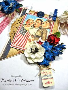 of July Banner by Kathy Clement for Petaloo International Product Authentique Honor Photo 5 Fourth Of July Decor, 4th Of July Fireworks, 4th Of July Party, July 4th, Patriotic Crafts, Patriotic Decorations, Hannukah, Star Spangled, Holidays And Events