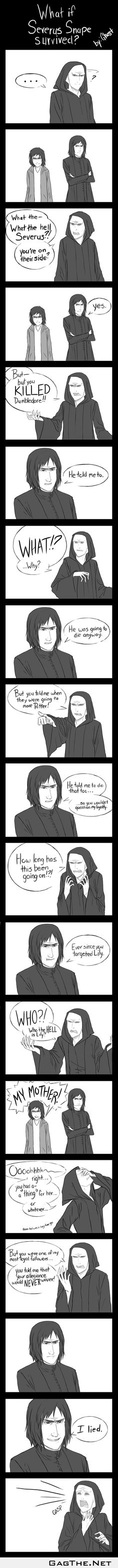 What if Snape Survived?