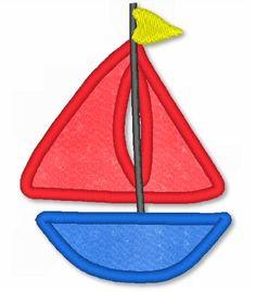 lynnie pinnie sailboat applique