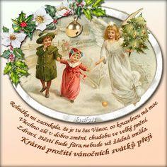 Vánoční přání « Rubrika | Blog u Květky Christmas And New Year, Merry Christmas, Christmas Ornaments, Smoothie, Champagne, Holiday Decor, Blog, Merry Little Christmas, Happy Merry Christmas