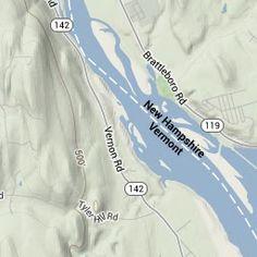Fort Hill Branch Rail-Trail Map - Dole Junction to Railroad Bridge to Brattleboro, VT   TrailLink