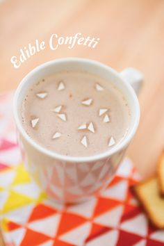 Edible Confetti for Hot Cocoa and Cocktails