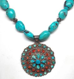 shopgoodwill.com: Sterling Silver Southwestern Tribal Necklace