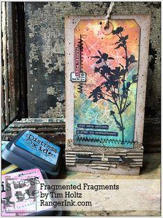 Faded Fragments by Tim Holtz | www.rangerink.com