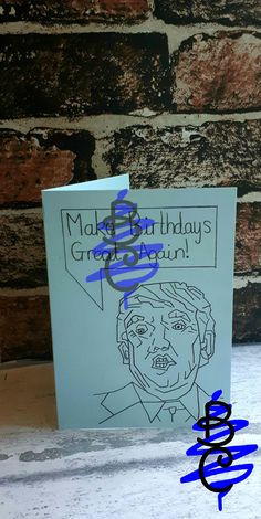 Donald Trump Birthday Card Make Birthdays Great Again Check It Out At