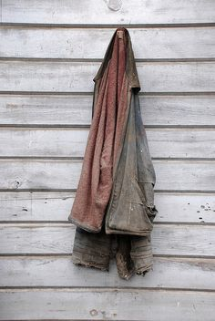 worn out jacket by lydiafairy, via Flickr