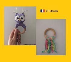 Crochet Amigurumi, Octopus, Crochet Earrings, Kawaii, Etsy, Mini, Pattern, Crochet Baby, Tuto Doudou