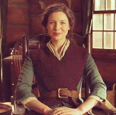 Could Claire be sitting in the Fraser's Ridge cabin? Outlander Season 4, Outlander 3, Outlander Casting, Sam Heughan Outlander, Diana Gabaldon Outlander Series, Outlander Quotes, Outlander Book Series, John Bell, Movies