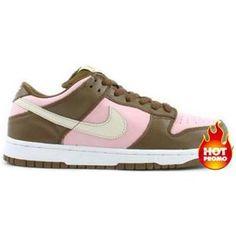 reputable site 6cbeb a1963 WMN Nike Dunk Low Pro SB - Stussy (dark khakishy pinkvanilla)