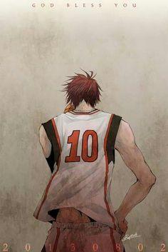 Kagami Taiga. Kuroko no Basket