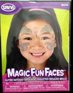 Magic Fun Faces Glitter Tattoos-LOVE HEART KISS-Colorful Stick Tattoo Decals. Eye Shadow Face Art Wear Sticker. Fake Temporary Transfers Special Effects Instant Cosmetic Accessory, pictured. Add your own makeup. Easy application, removal. Lasts days. http://www.horror-hall.com/Magic-Fun-Face-Art-Glitter-Tattoo-LOVE-HEART-KISS-Instant-Makeup-HH-TAT-HEART.htm *Many more Face Art Temporary Tattoos styles available!