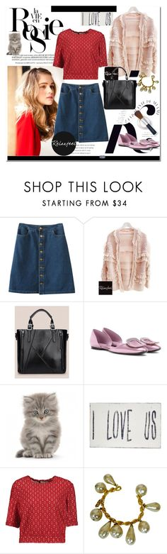 """""""FEATURED OUTFIT BY RELAXFEEL"""" by relaxfeel ❤ liked on Polyvore featuring Whiteley, Relaxfeel, KAROLINA, Roger Vivier, Pink Marmalade, Missoni and Chanel"""