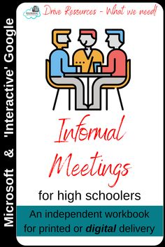 This is a complete workbook on informal meeting skills.  Designed for kiwi students doing US10791 but easily tweakable for your own assessment criteria. Hyperlinks, checkpoints, key teaching points and totally editable. Check out the flipbook video of this resource from the product page!  Oh - and you can share with your other teachers in your school and there's no need for multiple licences!  Boom! Insert Text, Google S, Share Online, Help Teaching, Life Skills, Kiwi, Assessment, Booklet, Students