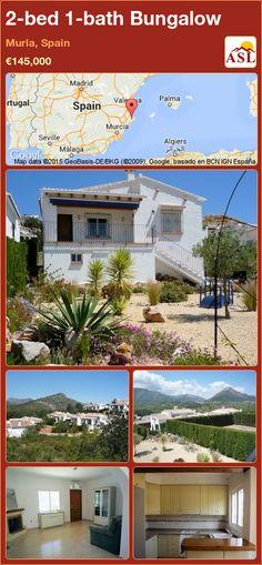 2-bed 1-bath Bungalow in Murla, Spain ►€145,000 #PropertyForSaleInSpain