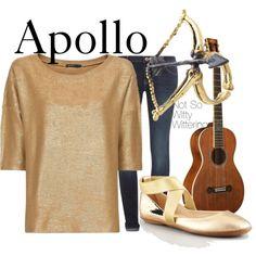 Apollo golden smart casual outfit. Percy Jackson