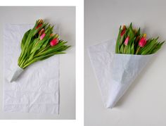 DIY / How to wrap flowers
