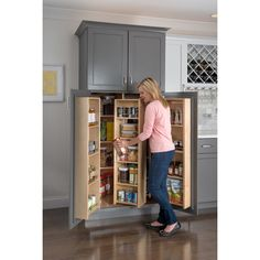 Hardware Resources Swing Cabinet Pull Out Pantry | Wayfair