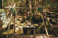 Dreamy Forest Wedding Inspiration
