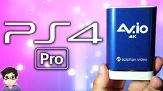 [Video] 4K Capture Card for PS4 Pro #Playstation4 #PS4 #Sony #videogames #playstation #gamer #games #gaming
