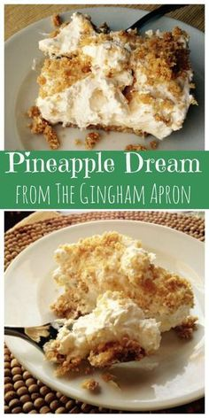 Pineapple Dream- Cool, refreshing, and SO delicious!