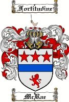 Mcrae Coat of Arms / Mcrae Family Crest
