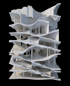 Oblique Circulation 3, Computational Design, Benjamin Dillenburger