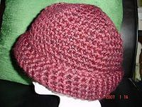 Ravelry: Chunky Brimmed Winter Hat/Chapeau by Deneen St Amour