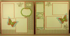 Fresh Vintage & Butterfly layouts