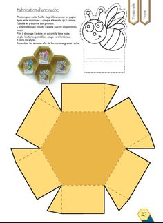 - lesptitsbricoleurss jimdo page! Insect Crafts, Bee Crafts, Diy And Crafts, Crafts For Kids, Arts And Crafts, Paper Crafts, Bee Activities, Bee Party, Bugs And Insects