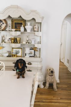 Donald Robertson – Illustrator, twins Henry and Charlie and dogs Donut and Monty at home in Los Angeles « the selby