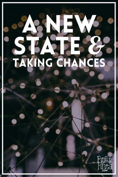 Moving to a new state without a job or friends was scary, but change is my word for 2016!