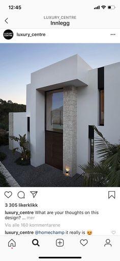 Facade, Mansions, Mirror, Luxury, Architecture, House Styles, Modern, Instagram, Design